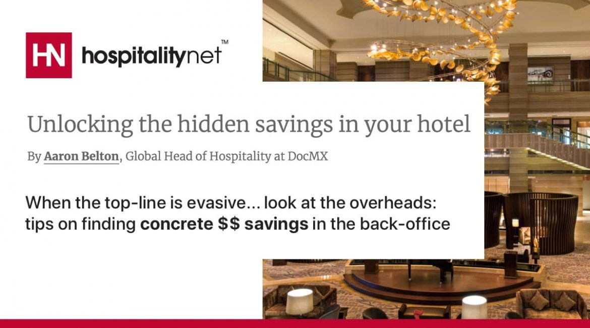 hospitality savings technology